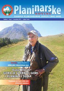 Planinarske novine broj 1 - PDF