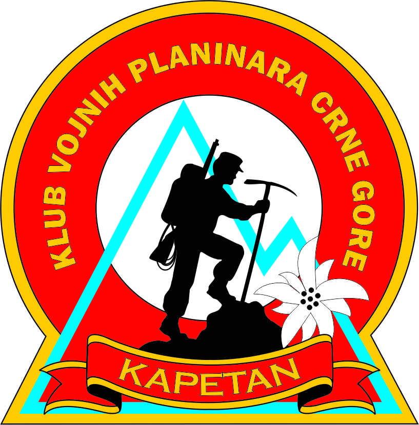 035 klub vojnih planinara CG kapetan